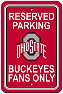 NCAA Official National Collegiate Athletic Association Fan Shop Authentic Parking Sign...