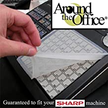 SHARP A-550 Cash Register Keyboard Wetcover Custom Designed for SHARP A550 made for Heavy Use and Extreme Liquid Protection by Around The Office