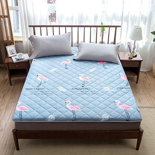 Mattress Japanese Tatami Mattress, Padded Cotton Padded Mattress, Thick And Soft Cotton Padded Futon Mattress for Guests, Home Mat, Bed Mattress,4,180 * 200cm