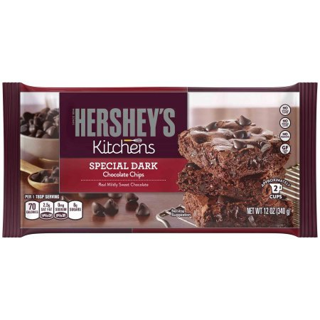Hershey's Special Dark Chocolate Chips, 12 oz (Pack of 2)