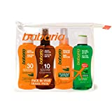 BABARIA pack protector solar spf 30 + after sun + aceite + capilar formato viaje