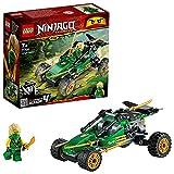 LEGO 71700 Ninjago Buggy de la Jungla, Juguete de Construcción con Figura de Acción de Ninja Lloyd con Espada Dorada