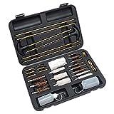 FIREGEAR Gun Cleaning Kit Universal Supplies for Hunting Rilfe Handgun Shot Gun Cleaning Kit for All Guns with Case (B2)