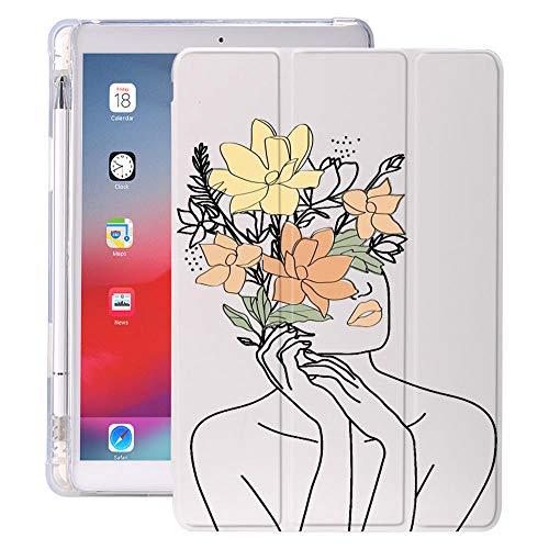 Pintura Abstracta para Air 4 Caso de iPad 12.9 Pro 11 2018 Tenedor de lápiz 10.2 7.2O 2020 VIII Mini 5 Cubierta Silicona para 10.5 Aire 1 2 3 (Color : 440, Size : iPad Air 1 2)