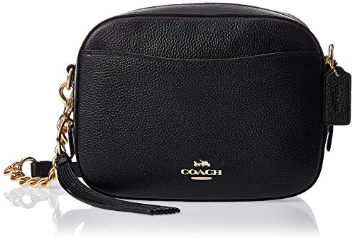 Coach Ladies Small Leather Camera Bag 29411LIBLK 29411 LIBLK