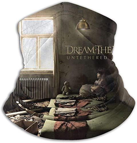NR Maschera per il viso in ghette termiche unisex per scaldacollo invernale Dream Theater
