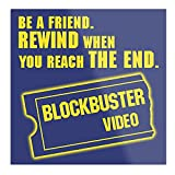 valungtung Video Merchandise Movies Blockbuster Nineties Rewind VHS Print Modern Typographic Poster Girl Boss Office Decor Motivational Poster Dorm Room Wall