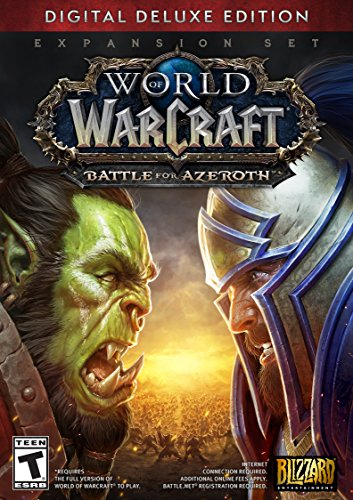 World of Warcraft: Battle for Azeroth - Digital Deluxe [Online Game Code]