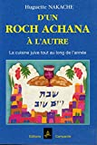 D'UN ROCH ACHANA A L'AUTRE La cuisine juive tout au long de l'année