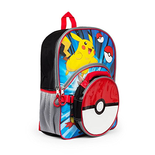 Pokemon Backpack with Lunchbox
