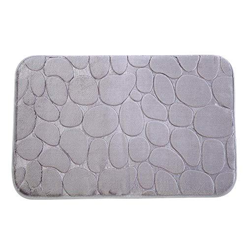 Estera antideslizante del cuarto de baño, alfombra de la cocina, cojín del cuarto de baño de la estera antideslizante absorbente del piso del Felpudo