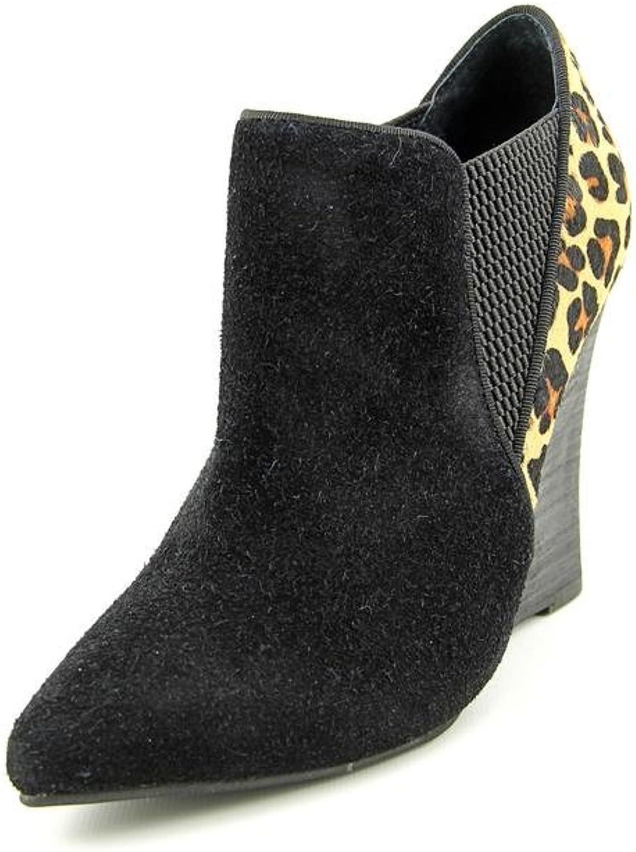 Rebels Fairmont Womens US Size 6.5 Black Hair Fur Booties shoes