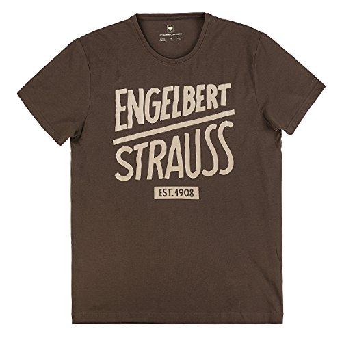 Engelbert Strauss Herren T-Shirt Engelbert Strauss, Größe:M, Farbe:Kastanie/lehm