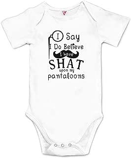 Funny Newborn Baby Bodysuit Girl Boy Onesies 0-24 Months