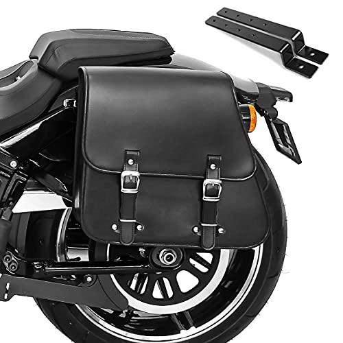 Bissaccia Borsa TM + montaggio per Harley Dyna Super Glide