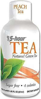5-hour TEA Energy Shot, Peach Tea Flavor, 1.93 Ounce, 12 Count