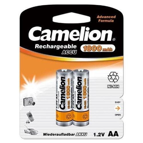 Camelion 17018206 Akku NI-MH HR6/ Mignon/ 1800mAh/ 1,2V - 2er Pack