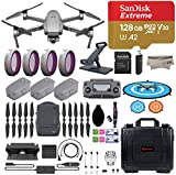 DJI Mavic 2 Zoom Drone Quadcopter with Fly More Combo, 3 Batteries,...