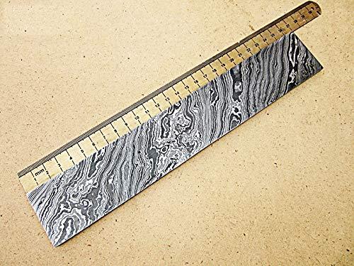 DBS-650, Custom Handmade Damascus Steel Billet Knife/Blank Blade Making Bar