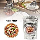 Macddy Lievito per Pizza Lievito Attivo in Polvere Lievito in Polvere - Non Acido - 220G -...