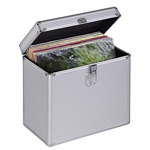 Hama 00181435 Microgroove Record Case Plata Estuche