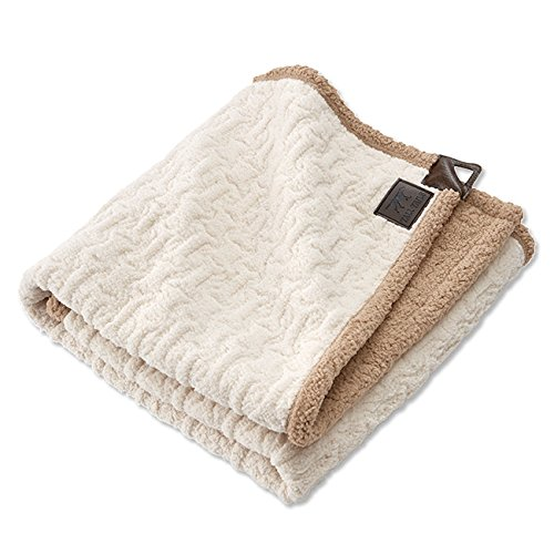 Orvis Bone-Embossed Sherpa Throw/Large, Large