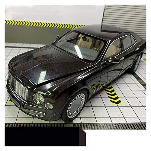 Aleación presión fundición coche modelo Kit 1:18 Para Aleación Mulsanne, Modelo De Metal De Coche Fundido A Presión, Aleación De Plástico Proporcional, Modelo De Coche En Miniatura De Simulación De Fu