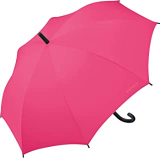 Esprit - Parapluie Canne Droit Automatique Femme Long AC Taille 86 cm