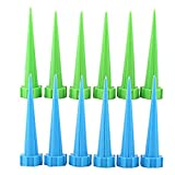 Jocestyle 12PCS Automatic Garden Watering Spike Water Control Drip Cone Plant Flower Waterer Bottle Irrigation