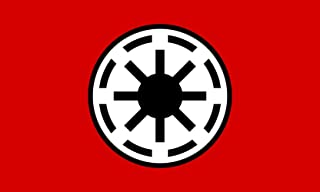 magFlags Large Flag Galactic Republic Star Wars | Landscape Flag | 1.35m² | 14.5sqft | 100x130cm | 40x50inch - 100% Made in Germany - Long Lasting Outdoor Flag