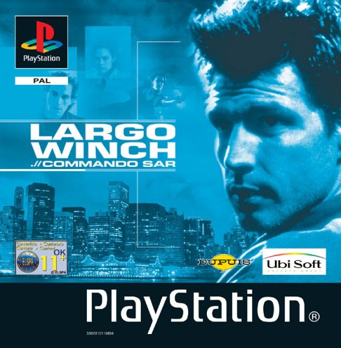 Playstation 1 - Largo Winch .// Commando Sar