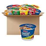 Kellogg's Breakfast Cereal in a Cup, Assortment Pack, Bulk Size (Pack of 24 Cups)