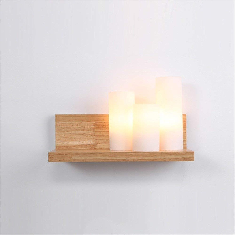 BAIJJ Nachtwandleuchte Wohnzimmer Küche Restaurant Korridor Einfache Gang Schlafzimmer Led Glas Blütenblatt Lampe Wandleuchte
