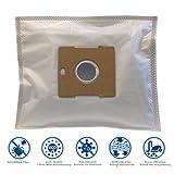 20 Staubsaugerbeutel für Alaska VC 1501, VC 3000, VC 3700, VC 3701 inkl. 2 Microfilter von Microsafe®