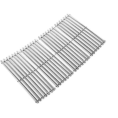 ZLjoint 19 Inches Cooking Grates Replacement for Turbo, Perfect Flame, Nexgrill Gas Grill Models, Stainless Steel Grill Cooking Grids, 4 Pack
