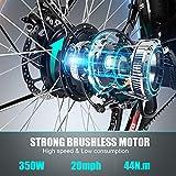 BIKFUN Elektrofahrrad, 20 Zoll E-Bike, Lithium-Akku - 5