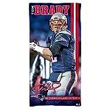 NFL Strandtuch 150x75 cm New England Patriots - Tom Brady -