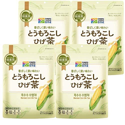 大象 韓美茶 とうもろこしひげ茶 150g(10g×5P×3袋入)×4個 / 神戸御影新生堂