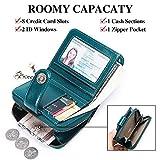 Zoom IMG-1 sendefn portafoglio donna in vera