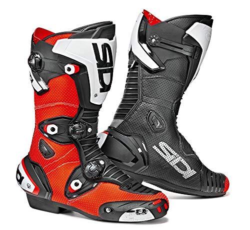Preisvergleich Produktbild Sidi Stiefel Mag-1 Air,  Rot Fluo-Schwarz,  Größe : 47