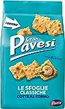 Gran Pavesi Cracker Le Sfoglie Classiche, Cotte al Forno, 190 g