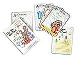 Once Upon a Card – Mi primer año en fotos – 40 tarjetas de etapas para bebé – 5 animales Rigolos – Regalo de nacimiento para mamá – inmortaliza cada momento del bebé.