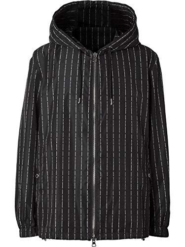BURBERRY Luxury Fashion Herren 8024243 Schwarz Polyamid Jacke   Frühling Sommer 20