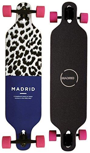 MADRID Leopboard Basic Komplett Longboard (Drop Through) 2015