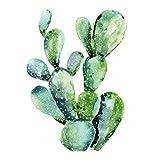 Servilletas de Papel ( Juego de 2 / 40 uds) 3 capas 33x33cm Verano (Cactus)
