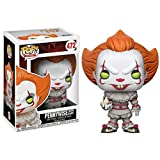 Lotoy Funko Pop Movie : Stephen King'S It - Pennywise Figure 3.9inch Vinyl Gift for Boys Horror Movi...