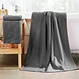 Buluri Asciugamani da Bagno - Set di asciugamani a 2 pezzi, Asciugamani in Microfibra 160 ...
