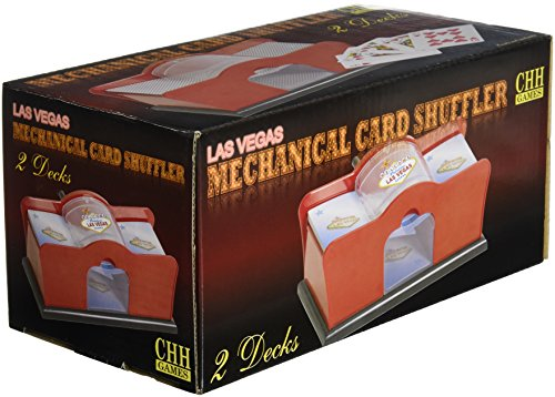 Hand Cranked Card Shuffler (2-Deck) by CHH