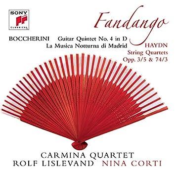 "Boccherini: La Musica Notturna Di Madrid, ""Fandango""-Quintet"