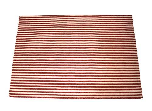 Campagne Table Linen Set de Table Rouge
